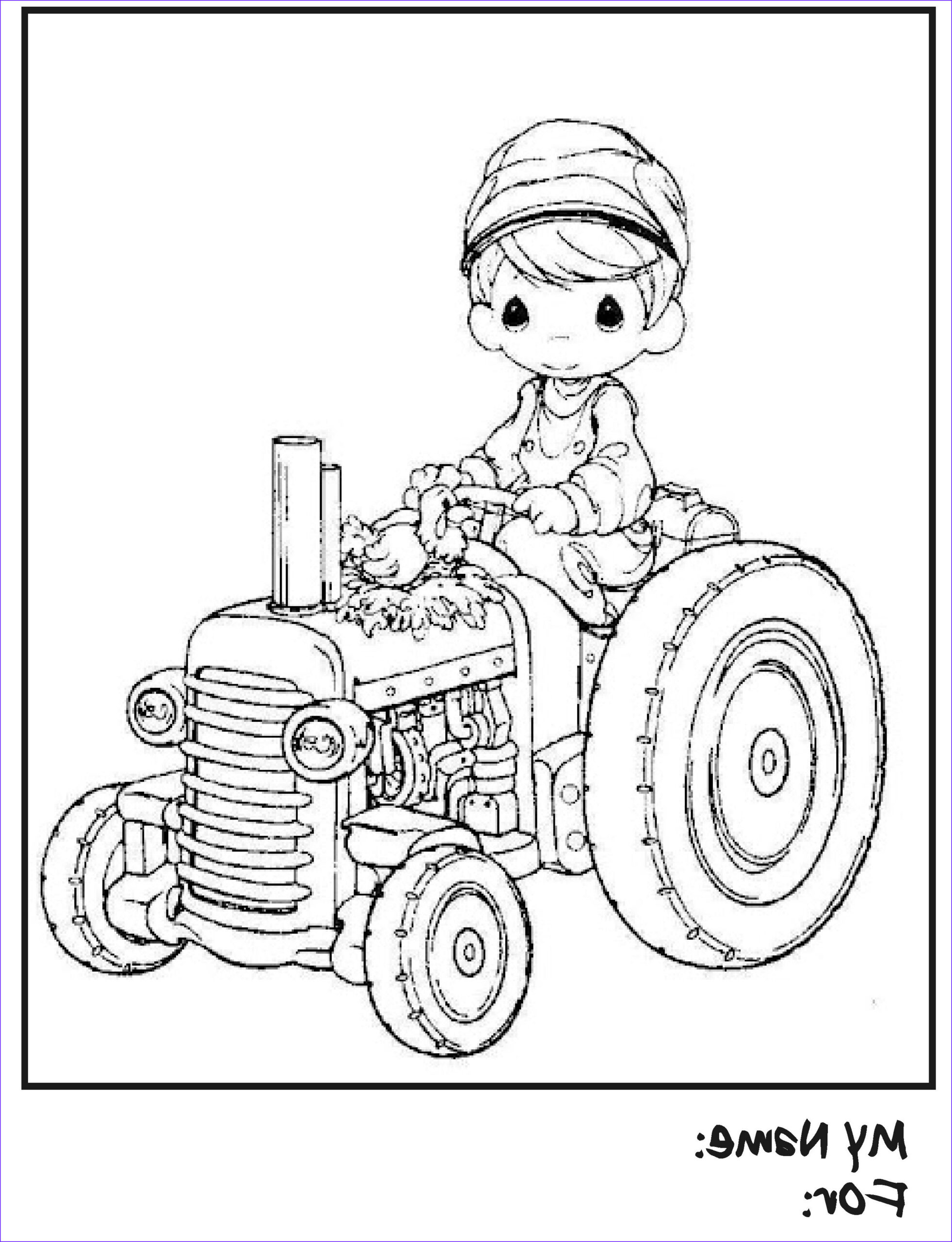 Tractor Coloring Book Beautiful Image Tractor Coloring Pages for Kids these Tractor Coloring