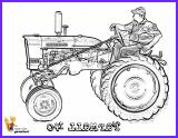 tractor coloring pages to print