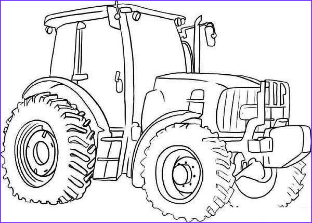 Tractor Coloring Book Beautiful Photos Free Tractor Coloring Pages Printable