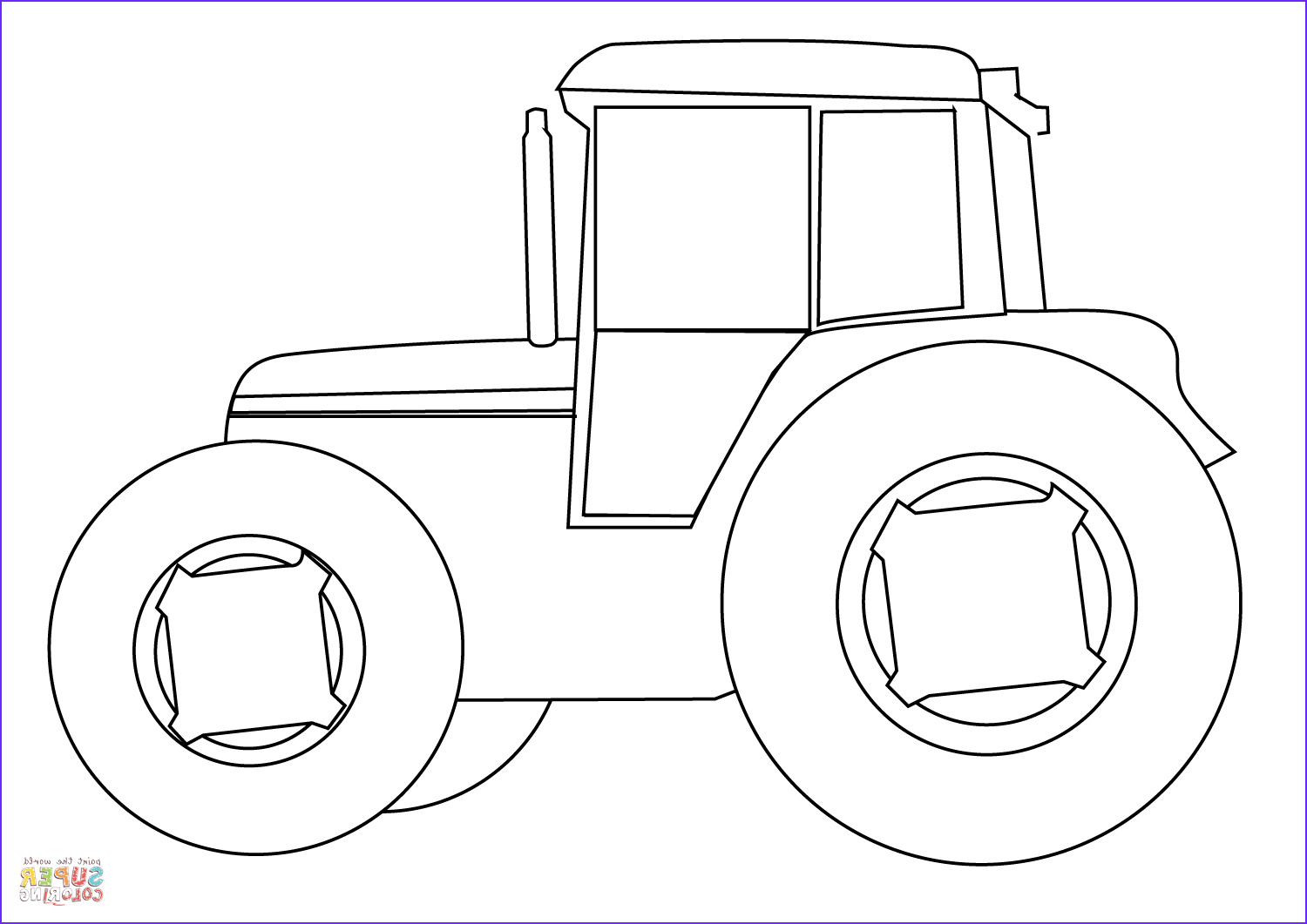 Tractor Coloring Book Best Of Gallery Farm Tractor Coloring Page