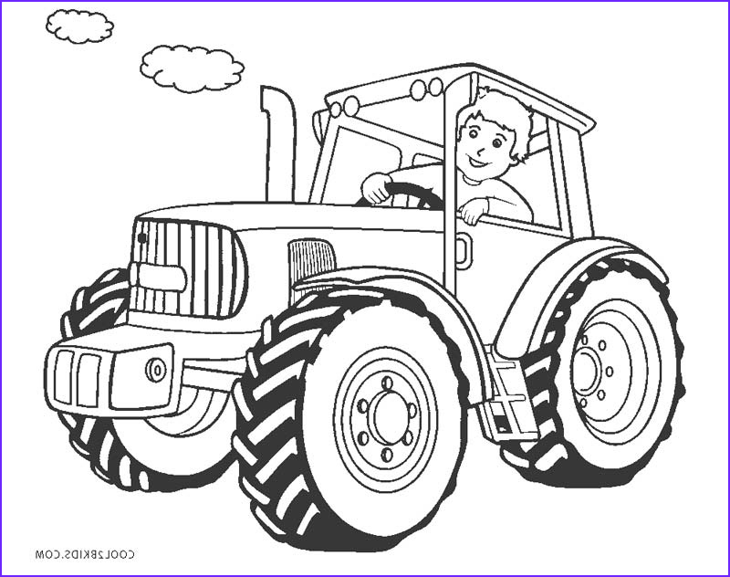 Tractor Coloring Book Cool Photos Free Printable Tractor Coloring Pages for Kids