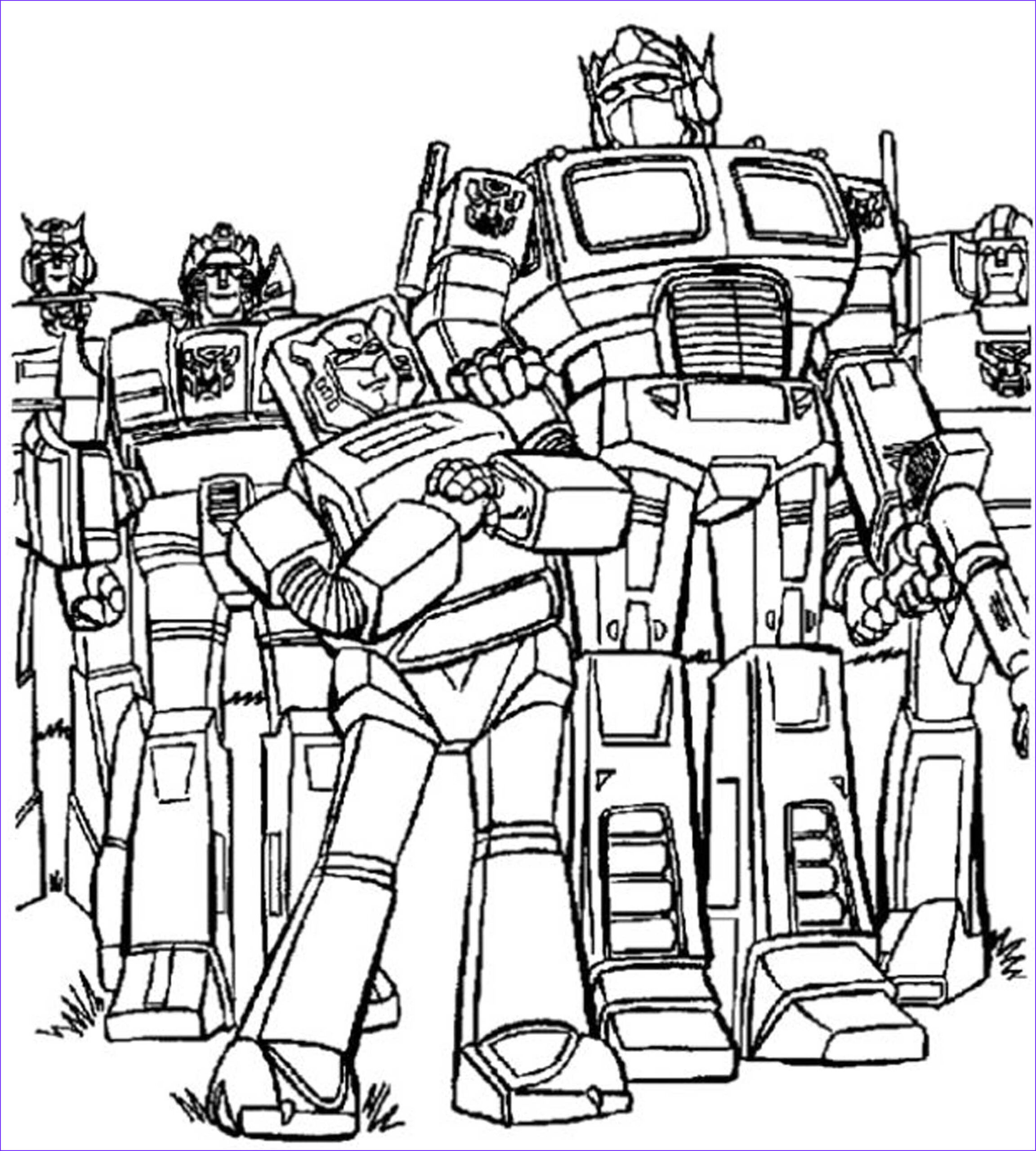 inviting kids transformers coloring pages
