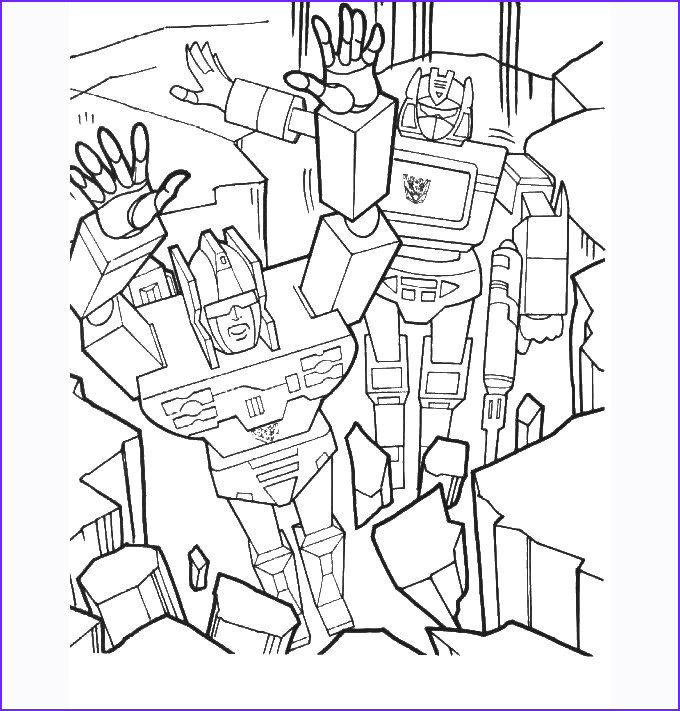 Transformers Coloring Book Beautiful Collection 30 Transformers Colouring Pages