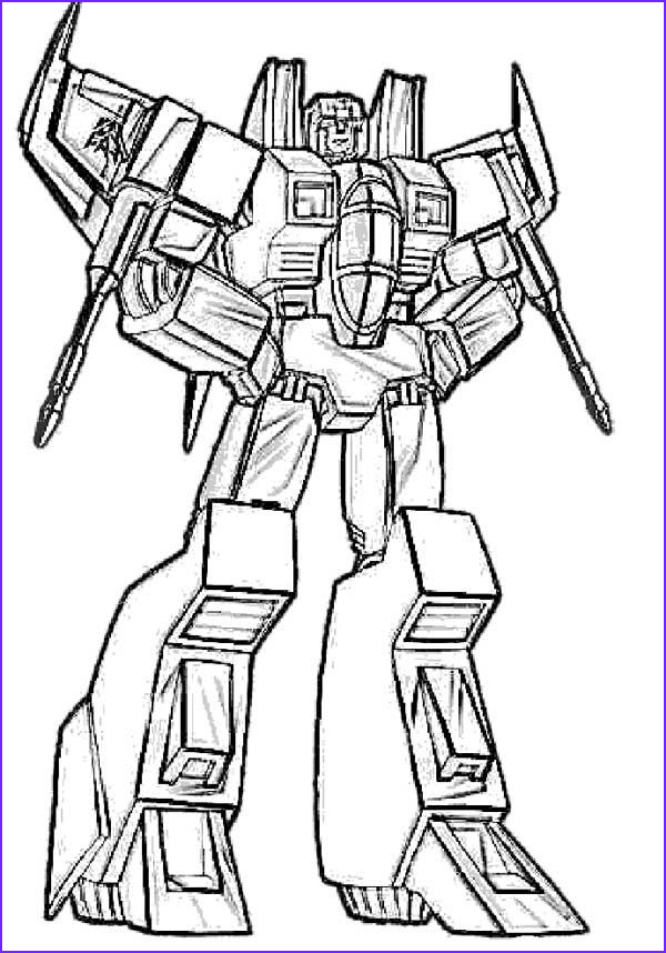 Transformers Coloring Book Cool Stock Starscream Transformers Coloring Page