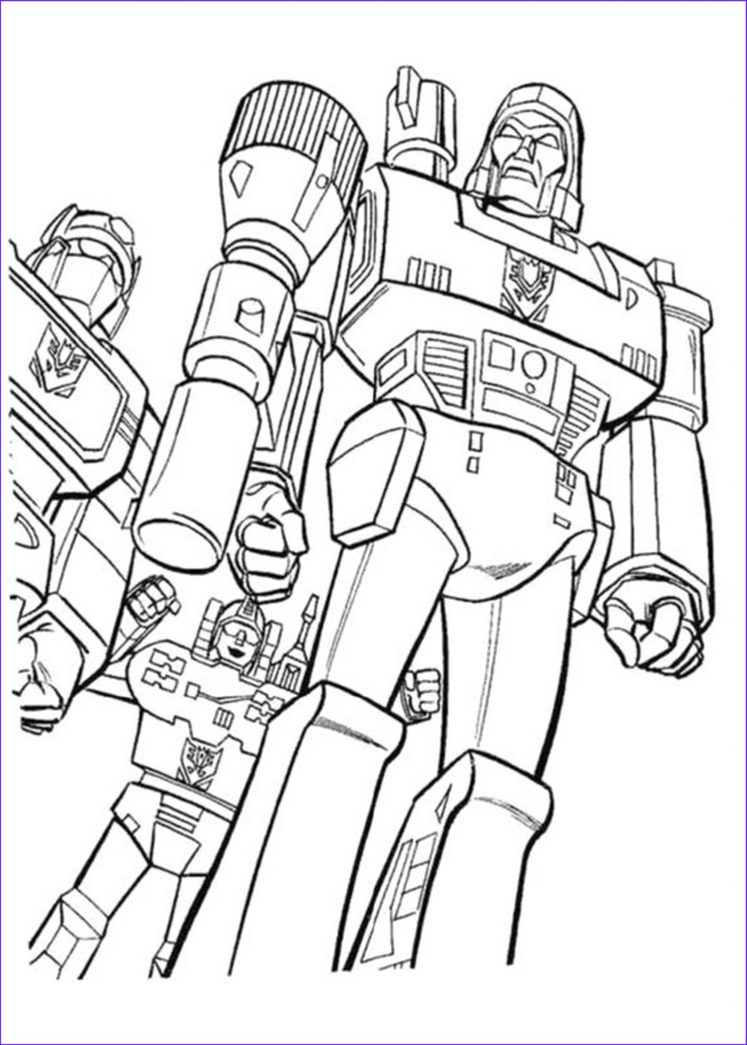 Transformers Coloring Book New Image Print & Download Inviting Kids to Do the Transformers