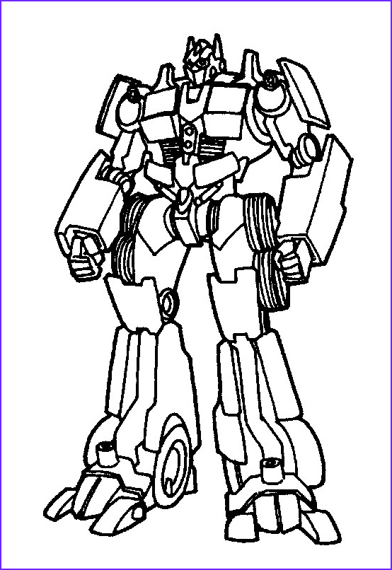 Transformers Coloring Book Unique Collection Kids N Fun