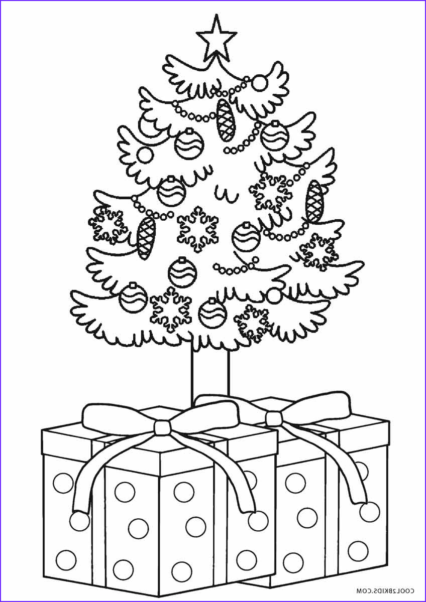 tree coloring pages