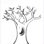 Tree Coloring Book New Image Lilac & Lavender Kids Autumn Printables