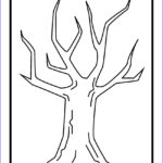 Tree Without Leaves Coloring Page Inspirational Image Tree Drawing Without Leaves At Getdrawings