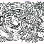 Trippy Coloring Book Awesome Stock 316 Best Trippy Psychedelic Coloring Pages Images On