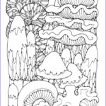 Trippy Coloring Book Beautiful Photos Trippy Mushroom Coloring Pages Enjoy Coloring