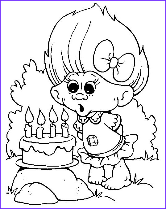 Trolls Coloring Book Best Of Photos Troll Coloring Pages
