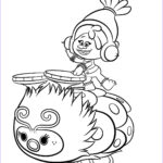 Trolls Coloring Book Cool Collection Trolls Coloring Pages To And Print For Free