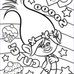 Trolls Coloring Pages Awesome Photography Trolls Movie Coloring Pages Best Coloring Pages For Kids