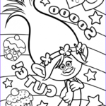 Trolls Coloring Pages Beautiful Gallery Trolls Movie Coloring Pages Best Coloring Pages For Kids