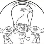 Trolls Coloring Pages Beautiful Images Trolls Movie Coloring Pages