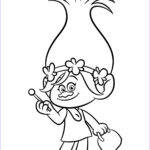 Trolls Coloring Pages Beautiful Photos Trolls Coloring Pages To And Print For Free