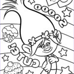 Trolls Coloring Pages Elegant Collection 10 Newest Troll Coloring Page For Kids