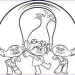 Trolls Coloring Pages New Images Trolls Movie Coloring Pages Best Coloring Pages For Kids
