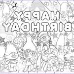 Trolls Coloring Pages New Photos 30 Printable Trolls Movie Coloring Pages
