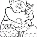 Trolls Coloring Pages New Photos Kids N Fun