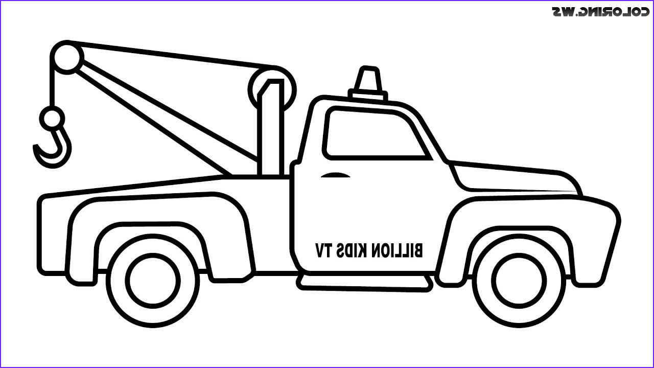 Truck Coloring Book Awesome Gallery tow Truck Coloring Pages for Kids