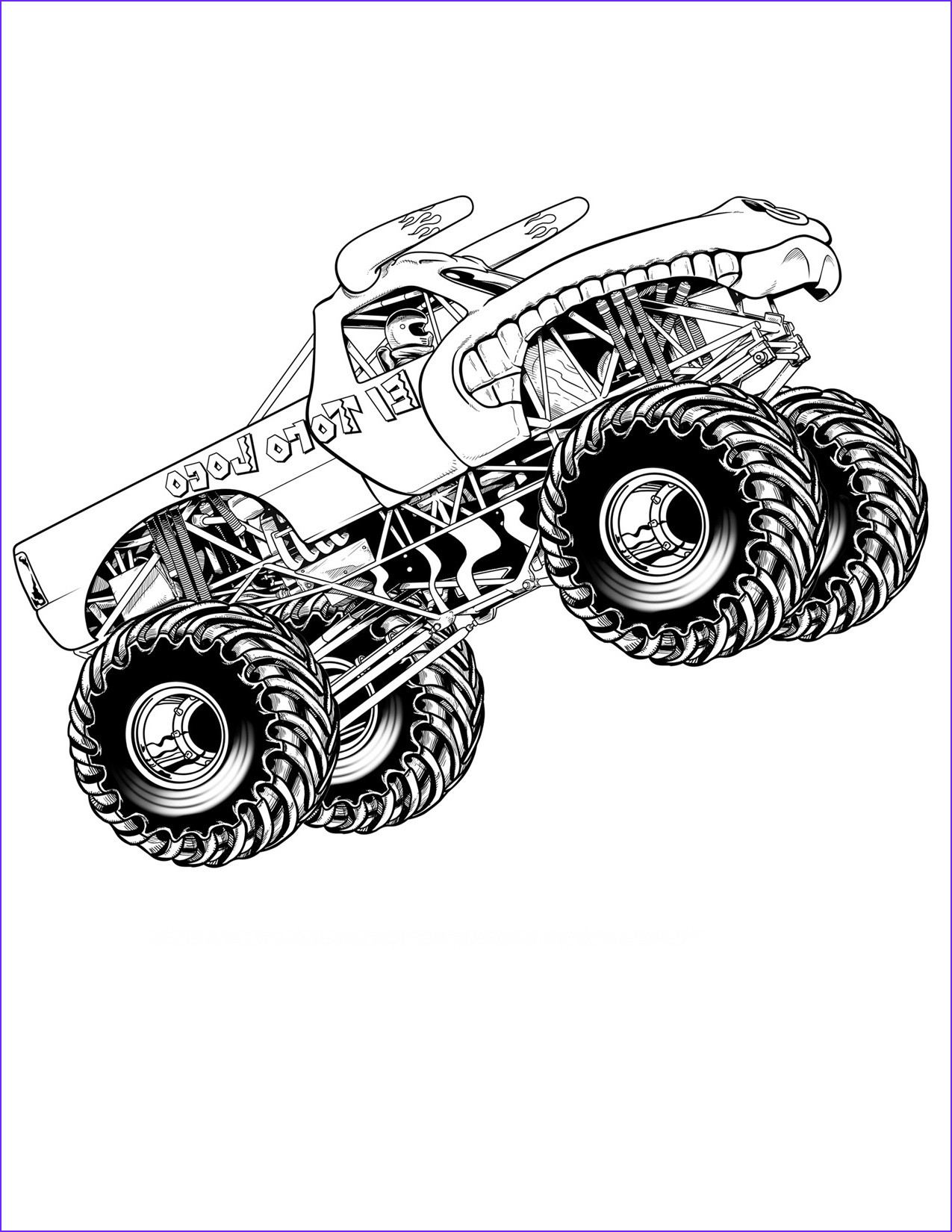 Truck Coloring Book Beautiful Collection Free Printable Monster Truck Coloring Pages for Kids