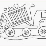 Truck Coloring Pages Beautiful Stock Dump Truck Coloring Pages Printable