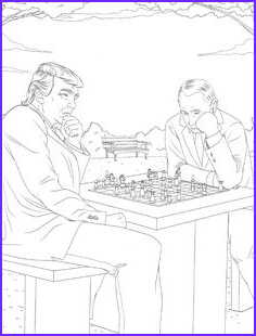 Trump Coloring Book Cool Image American Flag Coloring Pages