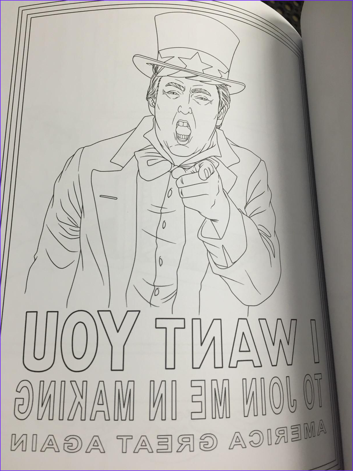 Trump Coloring Book New Collection Amazon Prime now the Trump Coloring Book