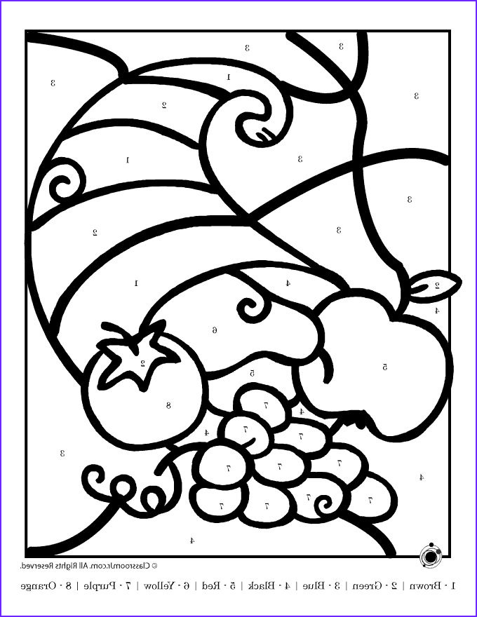Turkey Coloring Pages for Preschoolers New Gallery 104 Best Color by Number Images On Pinterest