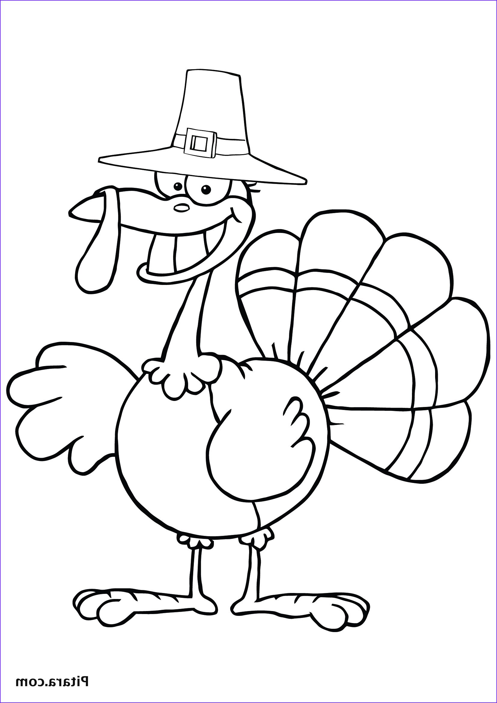 Turkey Coloring Pictures Awesome Image Turkey Coloring Pages for Kids
