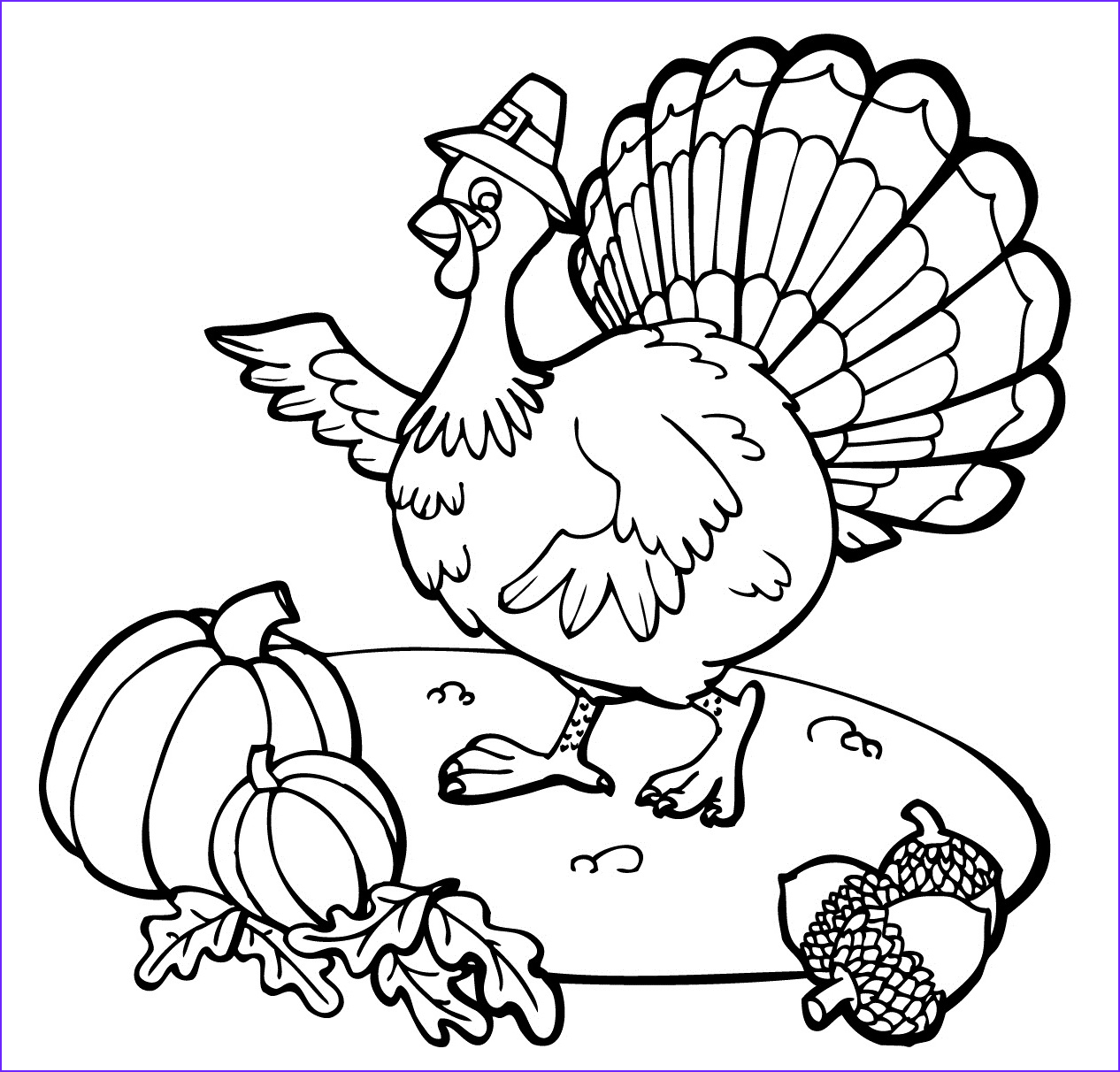 Turkey Coloring Pictures Best Of Stock Free Printable Thanksgiving Coloring Pages for Kids