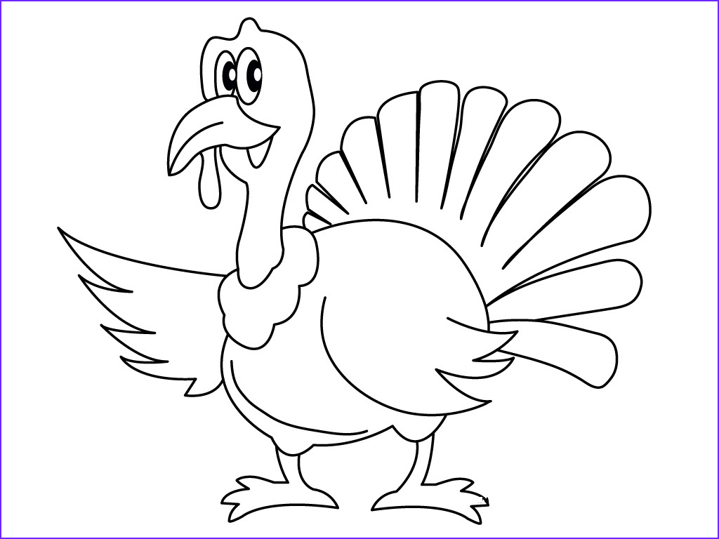 Turkey Coloring Pictures Elegant Gallery Free Printable Turkey Coloring Pages for Kids