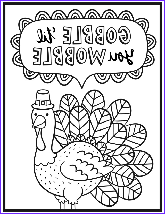 Turkey Coloring Pictures Elegant Gallery Free Thanksgiving Coloring Pages for Adults & Kids