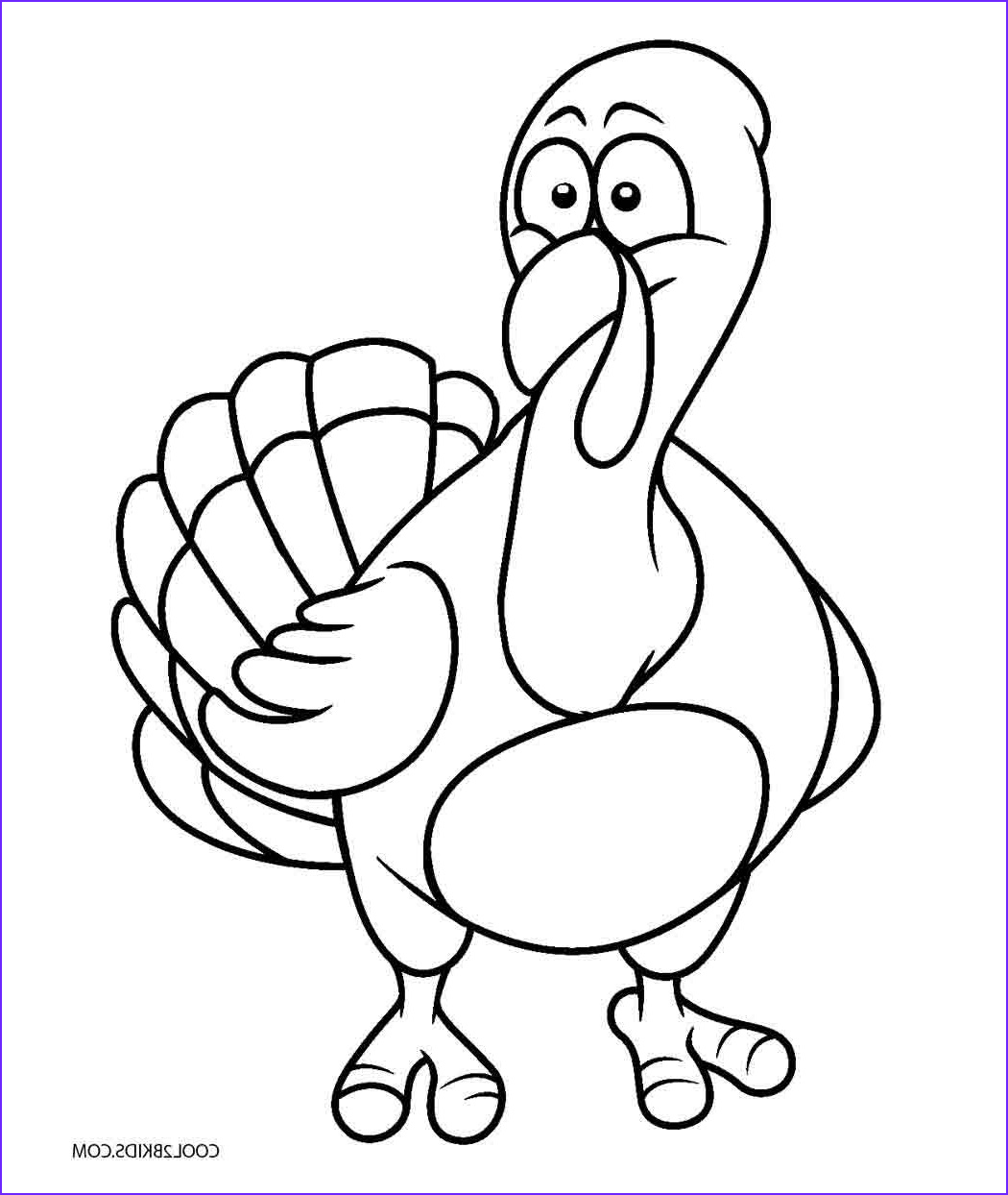 Turkey Coloring Pictures Luxury Collection Free Printable Turkey Coloring Pages for Kids