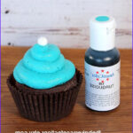 Turquoise Food Coloring Awesome Image Turquoise Americolor Food Coloring Light By