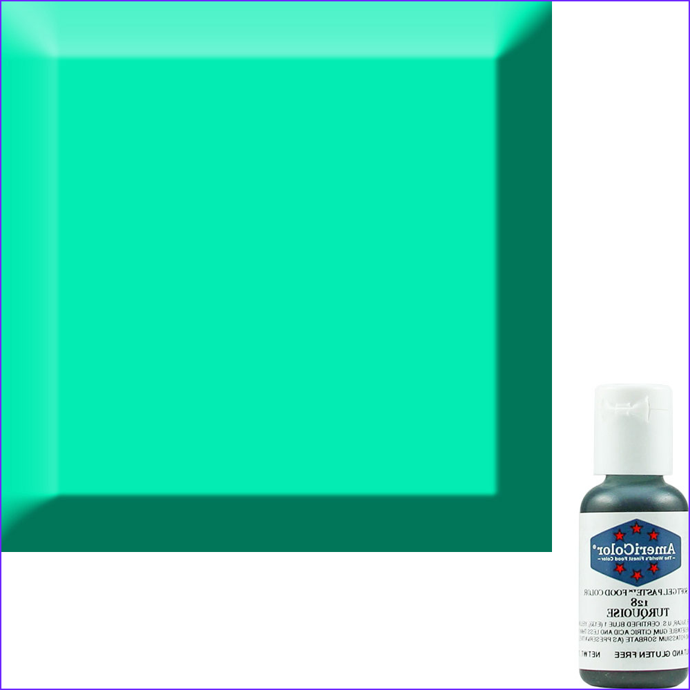 Turquoise Food Coloring Elegant Images Turquoise soft Gel Paste™ Food Color Acr 128