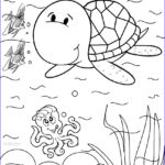 Turtle Coloring Book Beautiful Images Printable Sea Turtle Coloring Pages For Kids