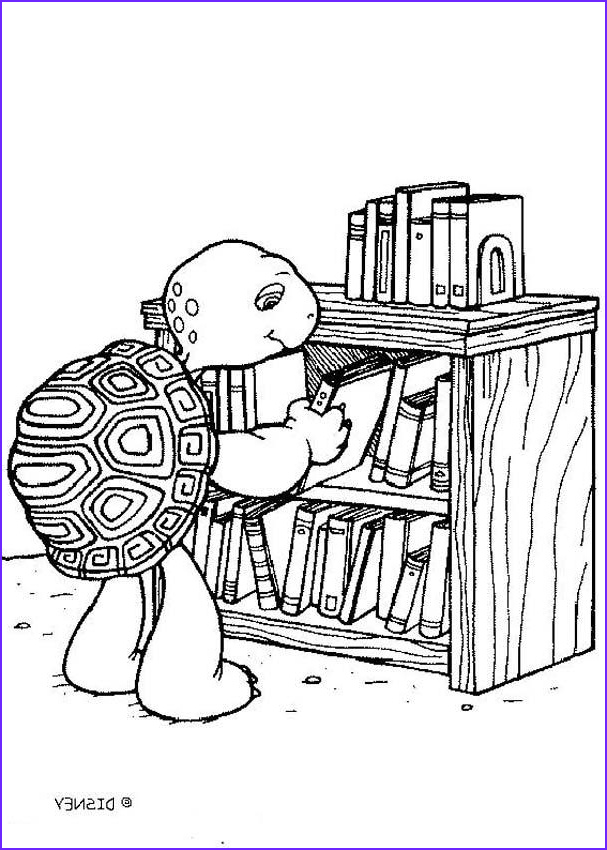 Turtle Coloring Books Cool Gallery Harriet Turtle Reading Books Coloring Pages Hellokids