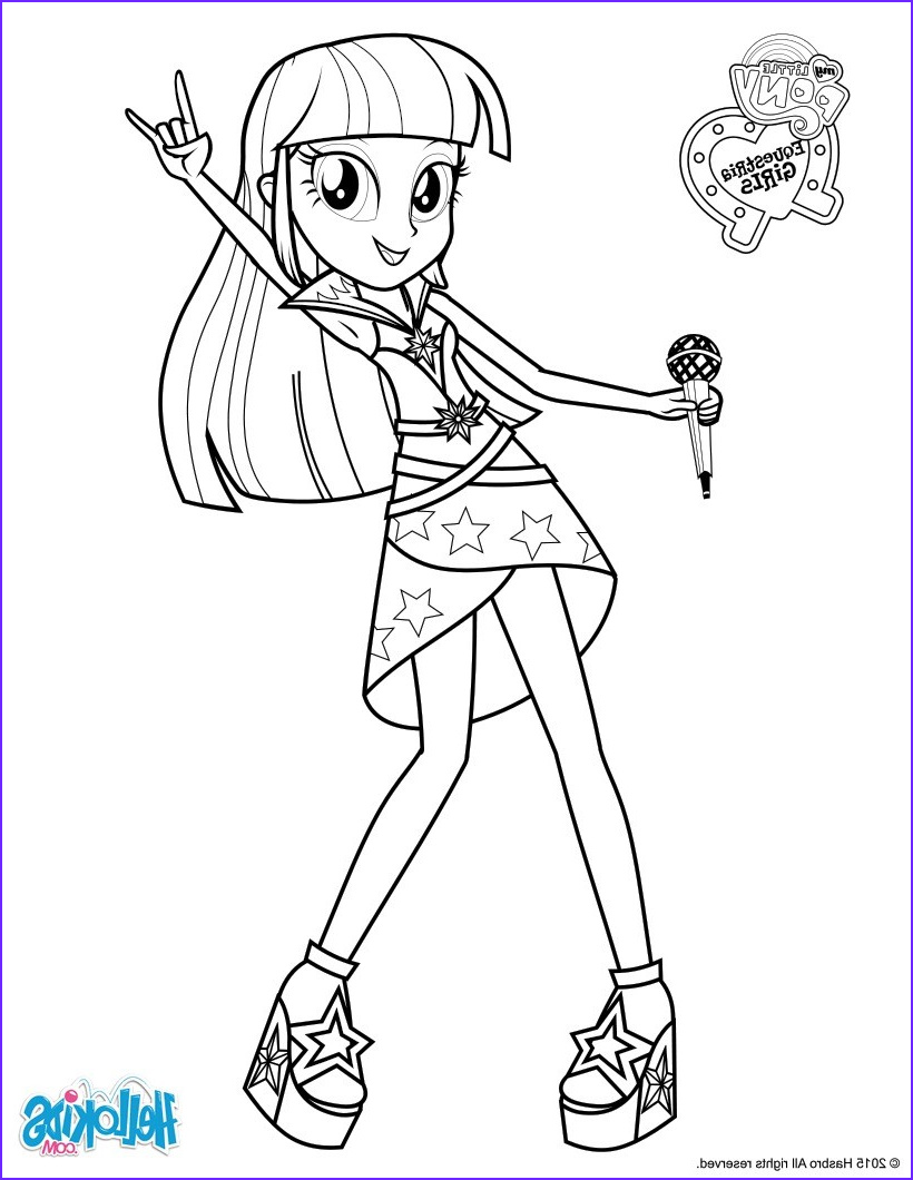 Twilight Sparkle Coloring Pages Awesome Image Twilight Sparkle Sings Coloring Pages Hellokids