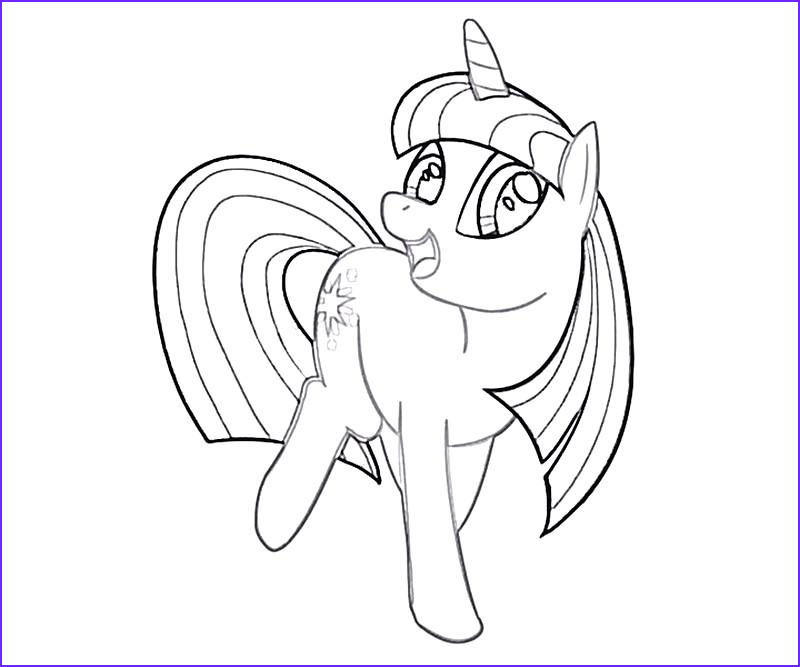 16 twilight sparkle coloring page