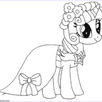 Twilight Sparkle Coloring Pages Beautiful Photos Princess Twilight Sparkle My Little Pony Coloring Pages