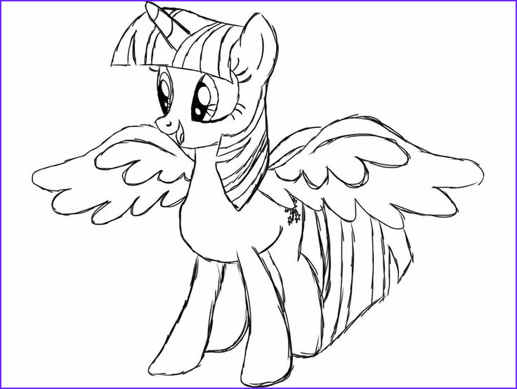 Twilight Sparkle Coloring Pages Inspirational Photography Princess Twilight Sparkle Alicorn Coloring Page