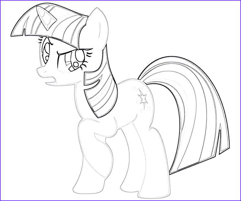 1 twilight sparkle coloring page