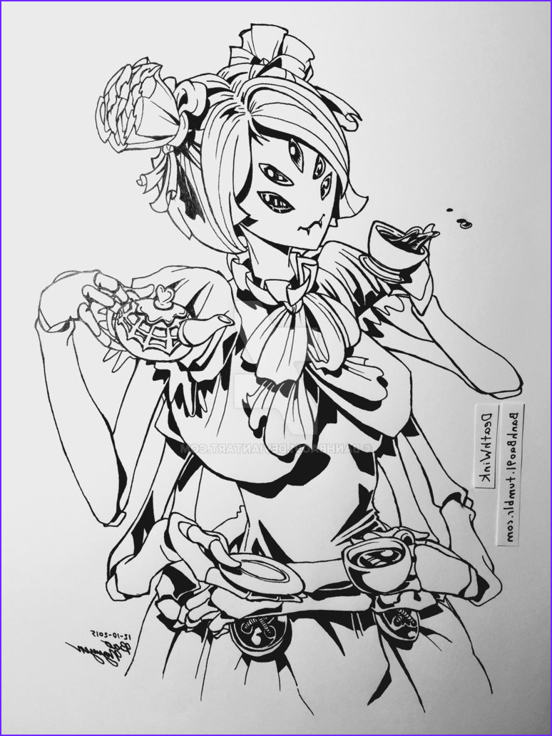 Undertale Coloring Pages Cool Photography Undertale Muffet by Banhbao91 On Deviantart