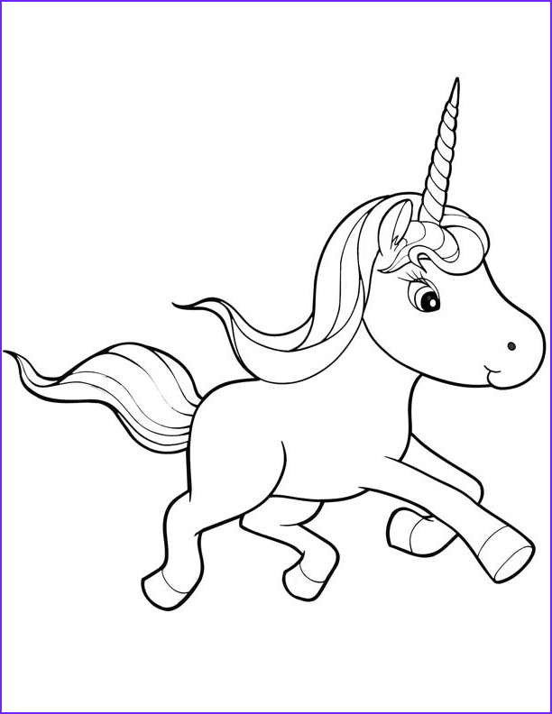 Unicorn Coloring Book Beautiful Collection Unicorn Coloring Pages