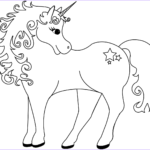 Unicorn Coloring Book Beautiful Image Lovely Unicorn Coloring Page