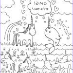 Unicorn Coloring Book Beautiful Images All Sizes