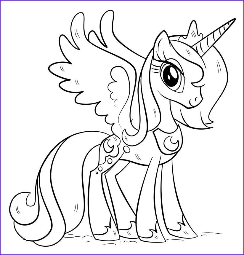 Unicorn Coloring Book Elegant Image 48 Adorable Unicorn Coloring Pages for Girls and Adults